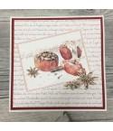 """Scrapbookingpapier """"kleine Weihnachtstypo"""" von Alexandra Renke"""