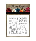 Clear Stamps Laughing Animals - Paper Rose