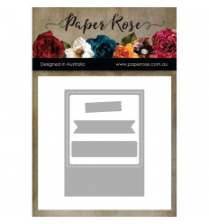 Stanzschablone Polaroid Frame - Paper Rose