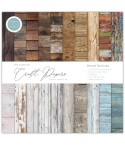 "Scrapbooking Papier Wood Textures 12"" x 12"" - Craft Consortium"