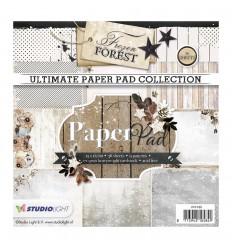 "Scrapbooking Papier Frozen Forest 6"" x 6"" - Studio Light"