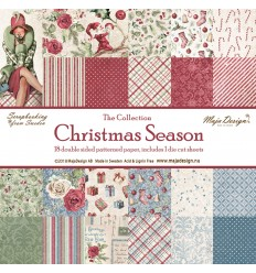 Scrapbooking Papier Christmas Season - Maja Design