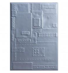 3-D Prägeschablone Foundry - Sizzix