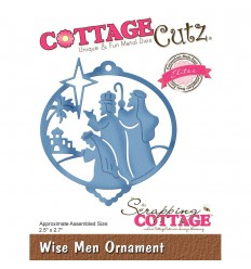Stanzschablone Wise Men Ornament - Cottage Cutz