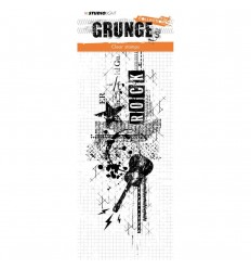 Clear Stamp Grunge Collection Rock - Studio Light