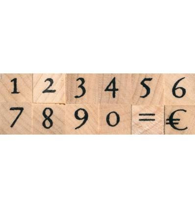Zahlen Stempel Set - Artemio