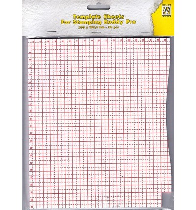 Template Sheets für Stamping Buddy Pro - Nellie's Choice