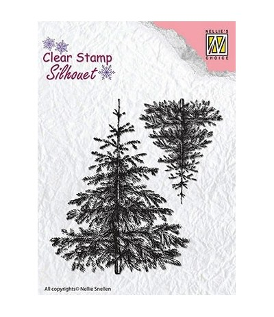 Clear Stamps Christmas Fir-Tree - Nellie's Choice