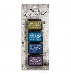 Distress Archival Mini Ink Kit 2 - Tim Holtz