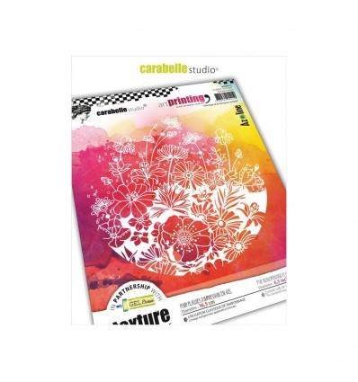"""Gummi Textur Plate """"Héritage d'un bouquet acidulé - Carabelle Studio"""