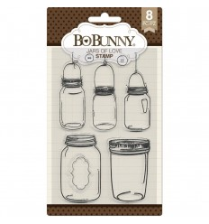 Clear Stamps Jars Of Love - BoBunny