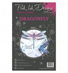 Clear Stamps Dragonfly Wings - Pin Ink Designs