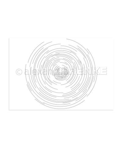 Clear Stamp Linienkreis - Alexandra Renke