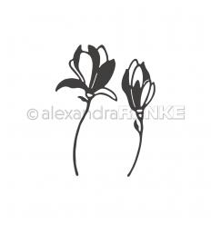 Stanzschablone 2 Magnolien - Alexandra Renke