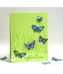 Stanzschablone Tall Grassy Stems Border - Memory Box