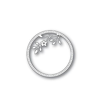 Stanzschablone Tree Blossom Stitched Circle Frame - Memory Box