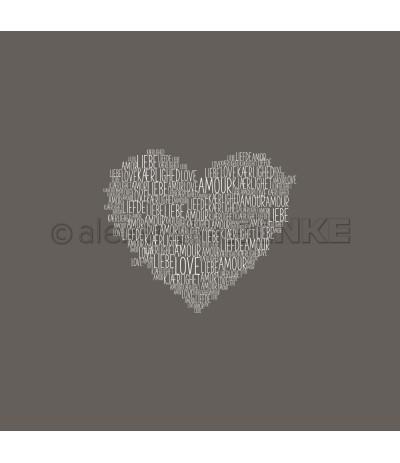 "Motivstempel ""Typoherz Liebe"" - Alexandra Renke"