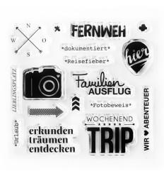 Clear Stamps Fernweh - Papierprojekte
