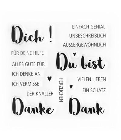 Clear Stamps Grüsse - Papierprojekte