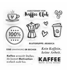 Clear Stamps Kaffee Club - Papierprojekte
