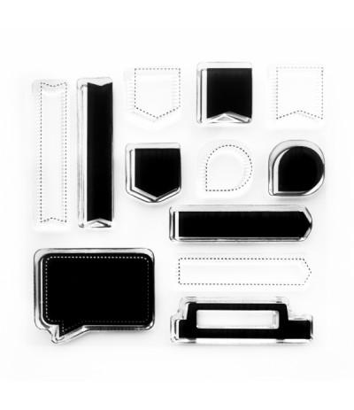 Clear Stamps Planer Tabs - Papierprojekte
