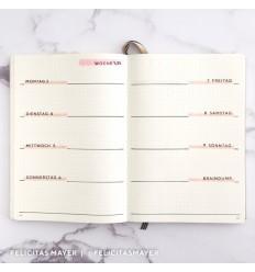 Clear Stamps Kalendertage - Papierprojekte