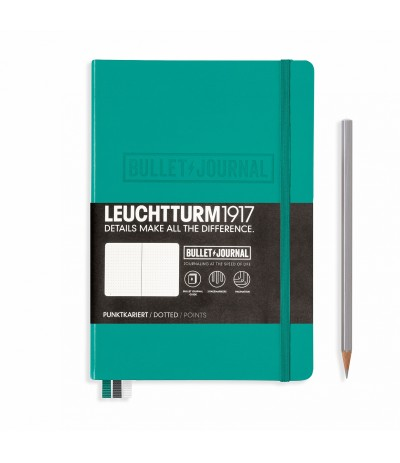 Bullet Journal Smaragd - Leuchttum1917