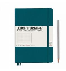 Notizbuch Medium (A5), Hardcover, Schwarz, Dotted - Leuchtturm1917