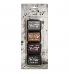 Distress Archival Mini Ink Kit 3 - Tim Holtz