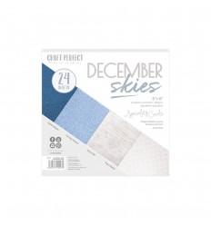 Scrapbooking Papier December Skies - Craft Perect