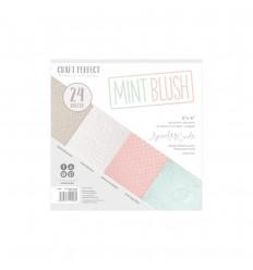 Scrapbooking Papier Mint Blush - Craft Perect