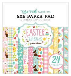 Scrapbooking Papier Easter Wishes, 15x15cm - Echo Park