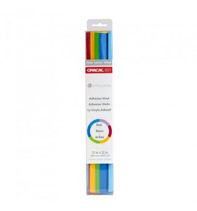 Vinylfolie Oracal 651 Samplerpaket Basic- Silhouette America