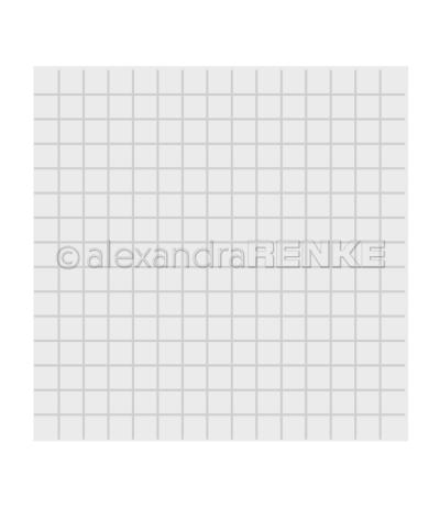 Prägeschablone Quadrat-Raster - Alexandra Renke