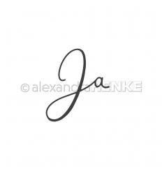 "Stanzschablonen ""Ja"" - Alexandra Renke"