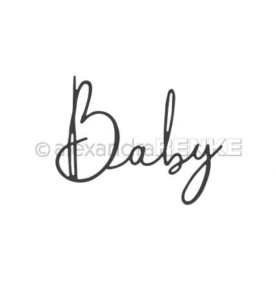 Stanzschablone Baby - Alexandra Renke