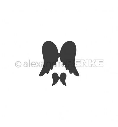Stanzschablone Engelsflügel 1+6 - Alexandra Renke