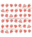 Scrapbooking Papier Erdbeeren - Alexandra Renke
