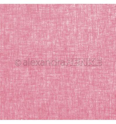 Scrapbooking Papier Leinen himbeere - Alexandra Renke