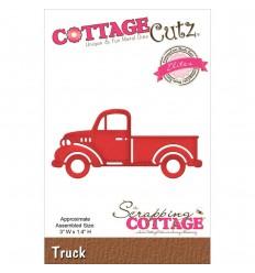 Stanzschablone Truck - Cottage Cutz