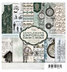 Scrapbooking Papier Gentleman's Emporium, 15.0 x 15.0cm - Couture Creations