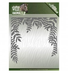 Stanzschablone Jungle Frame ,Wild Animals 2 - Find it