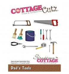 Stanzschablone Dad's Tools - Cottage Cutz