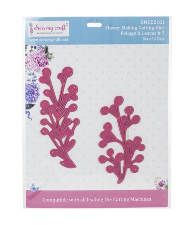 Stanzschablone Foliage & Leaves 7 - Dress My Craft