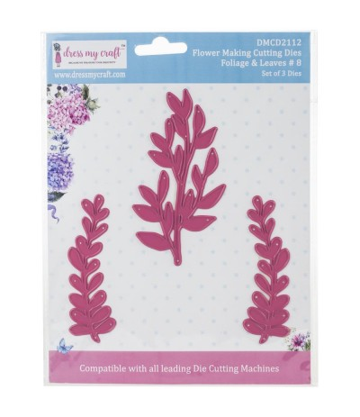 Stanzschablone Foliage & Leaves 8 - Dress My Craft