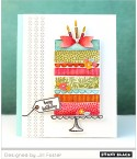 Clear Stamps Lovly Birthday - Penny Black