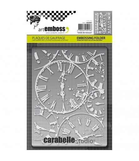 Prägeschablone Horloges - Carabelle