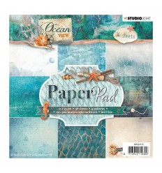 "Scrapbooking Papier Ocean View 6"" x 6"" - Studio Light"