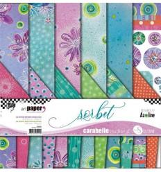 Scrapbooking Papier Sorbet - Carabelle Studio
