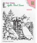 Clear Stamp Santa Claus at work - Nellie Snellen